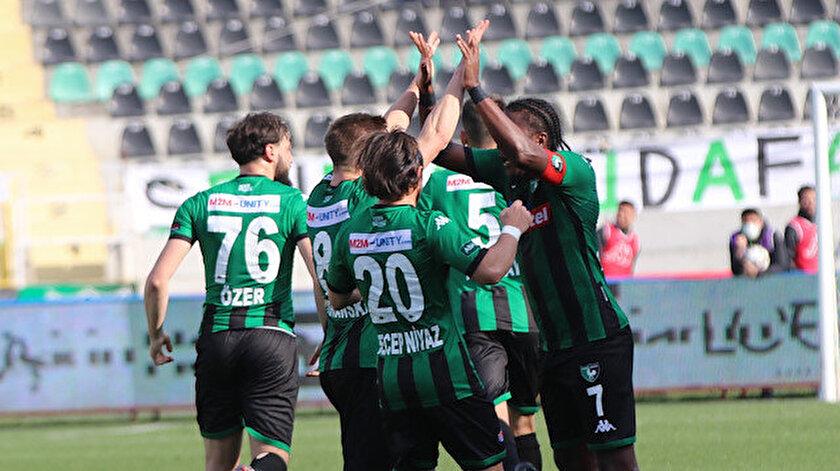 Denizlispor-Yeni Malatyaspor maçı kaç kaç bitti