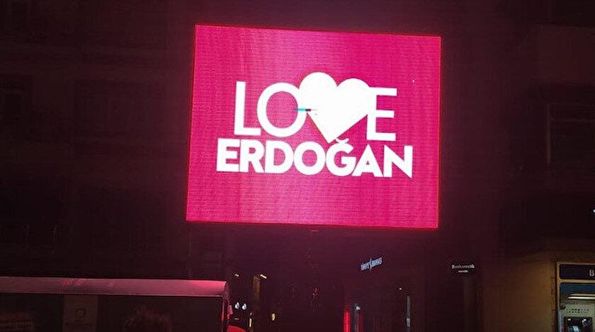 New Yorktaki FETÖ propagandasına Ordudan yanıt: Love Erdoğan