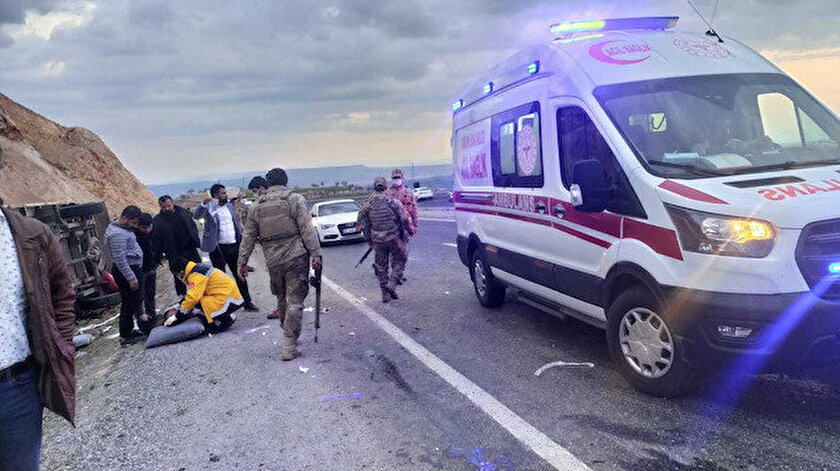 Diyarbakırda feci kaza: 5 kişi hayatını kaybetti