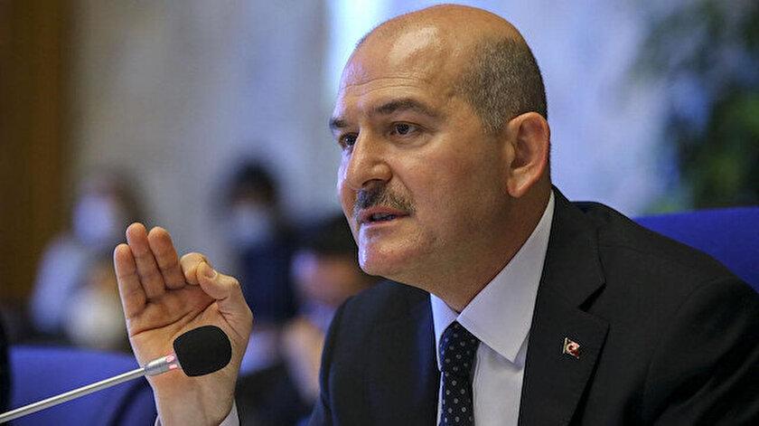 İçişleri Bakanı Süleyman Soyludan 8 Martta kadına şiddetle mücadele mesajı
