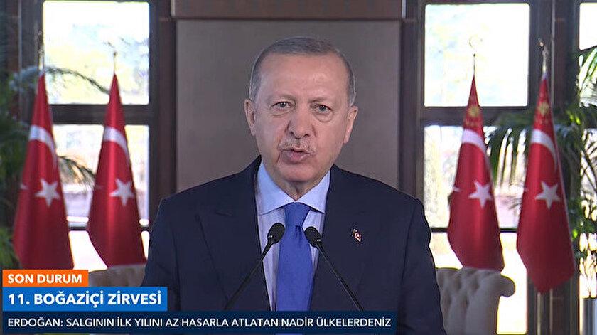 Cumhurbaşkanı Erdoğan 11. Boğaziçi Zirvesinde konuştu: Çinden sonra ikinci sıradayız