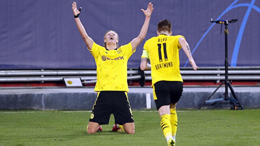 Borussia Dortmund Şampiyonlar Liginde çeyrek finale yükseldi