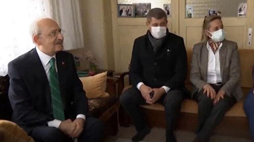 CHP Genel Başkanı Kılıçdaroğlu Silivri'de vatandaşların evine konuk oldu.