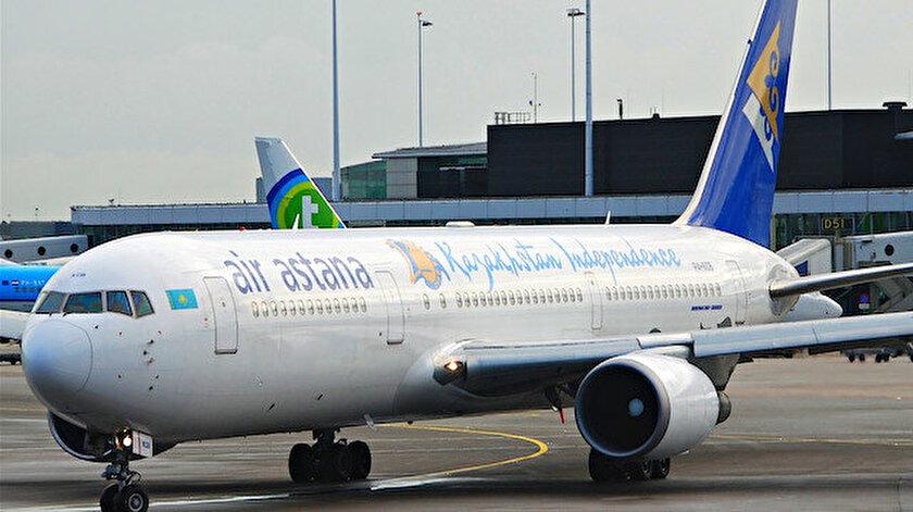 Türkistandan ilk yurt dışı uçuş Türkiyeye