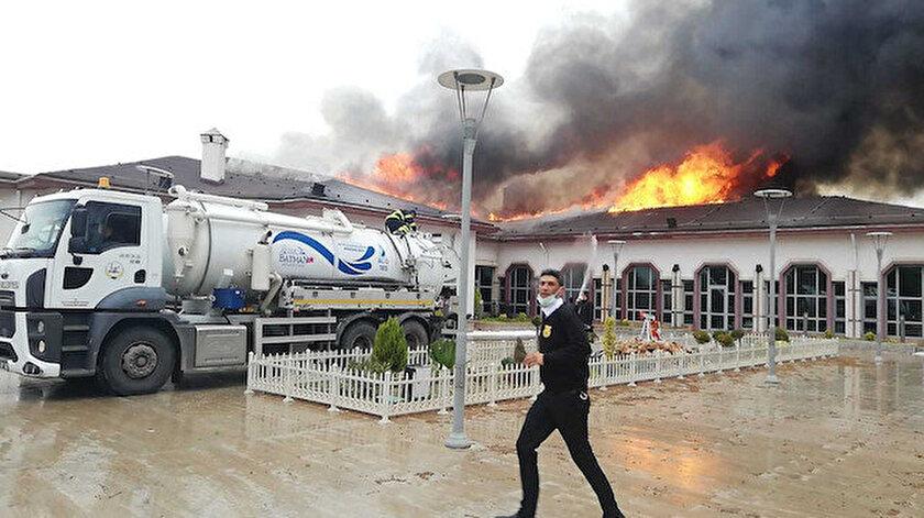 Son dakika haberleri: Batman TPAOda korkutan yangın!