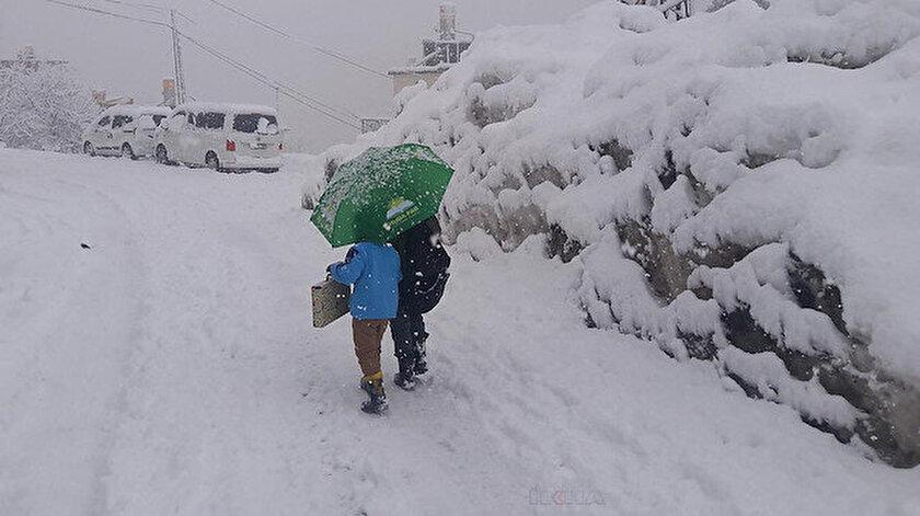Kar geri döndü: Çankırı, Konya, Kırşehir eğitime ara verilen iller
