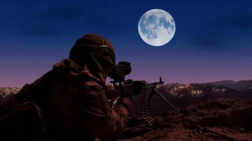 MSBden Süper Ay paylaşımı: Bize Ay Yıldızın ışığı yeter