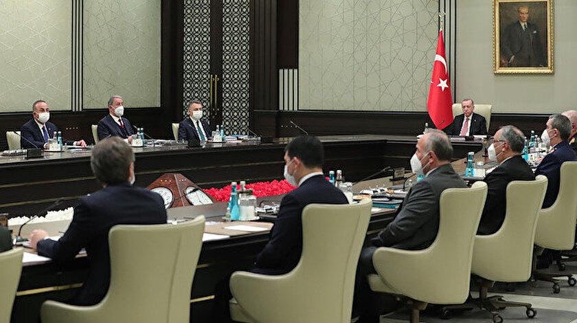 Milli Güvenlik Kurulu toplantısı sona erdi: Bildiride kararlılık vurgusu