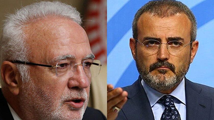 AK Partinin yeni Grup Başkanvekilleri Mahir Ünal ve Mustafa Elitaş