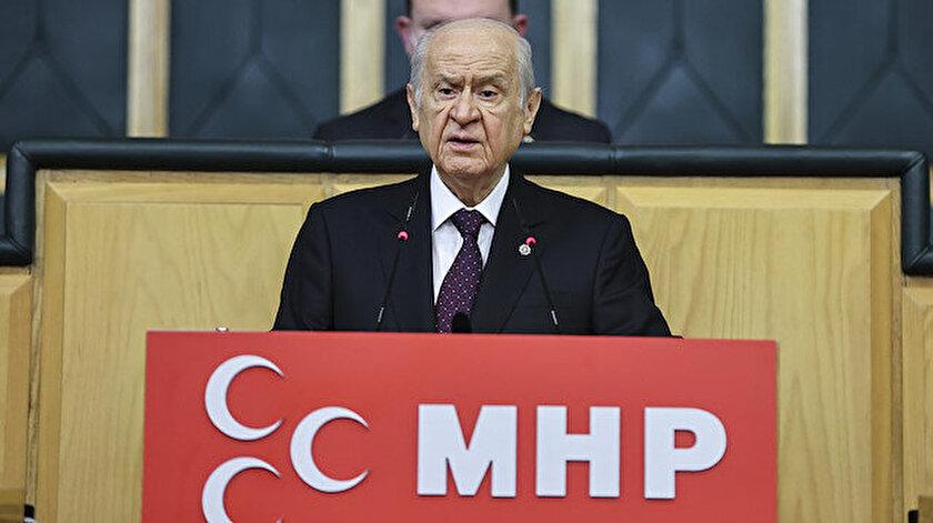 MHP lideri Bahçeliden Kılıçdaroğlu açıklaması: İPi bırak HDPden ayrıl MHPye gel