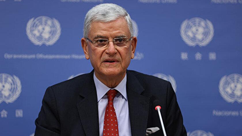 BM 75. Genel Kurul Başkanı Volkan Bozkır, Türkiye, Katar ve Azerbaycanı ziyaret edecek