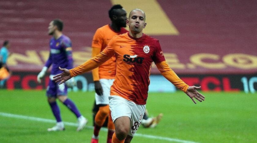 Galatasarayda Emre Kılınç yerine Feghouli oynayacak