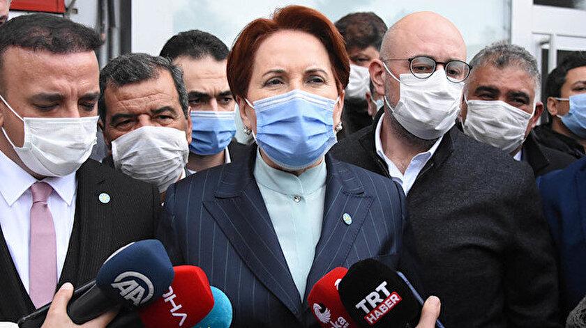 Akşener AYMnin HDPnin kapatılması istemli iddianameyi iadesini değerlendirdi: Ben hukukçu değilim