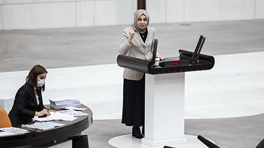 AK Partili vekil terör örgütünü lanetledi HDPliler tepki gösterdi: Yaranız var gocunuyorsunuz