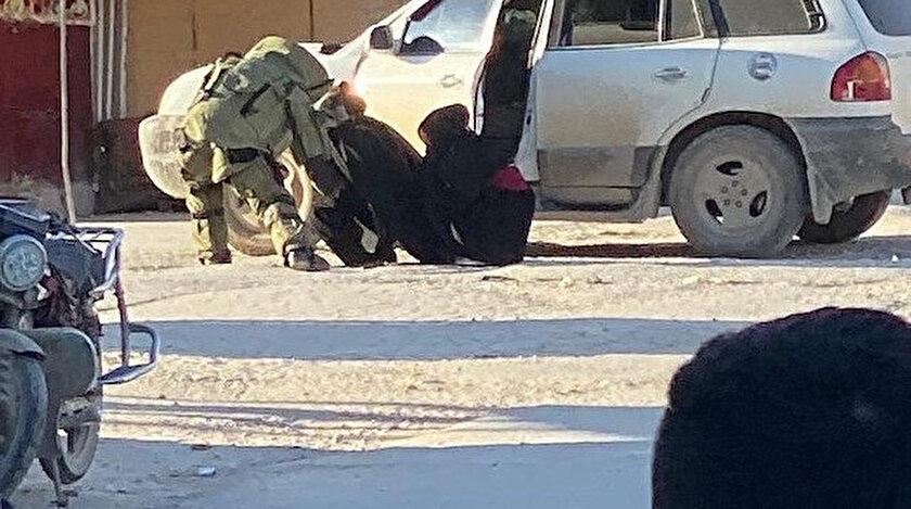 Afrinde PKK üyesi iki kadın canlı bomba eylem öncesi bombalarla yakalandı