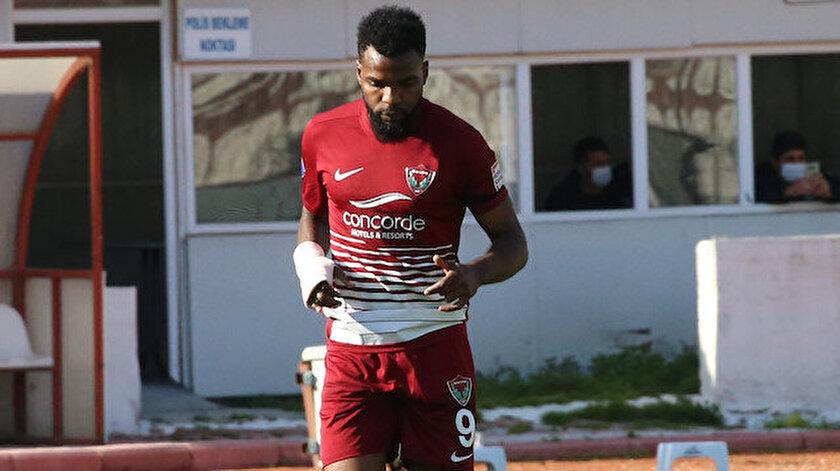 Hataysporun golcüsü Boupendza Galatasaray maçında oynayabilecek mi?