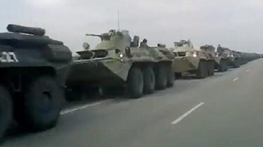 Ukraynada kriz: Rusyadan sınıra yoğun asker sevkiyatı