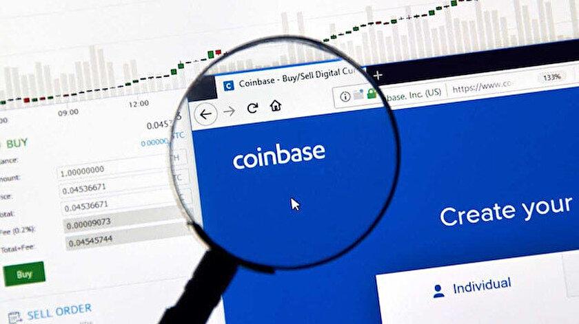 ABDnin en büyük kripto para birimi işlem platformlarından Coinbase borsadan onay çıktı