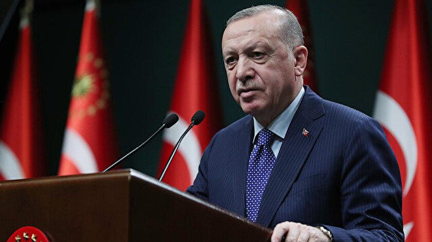 Cumhurbaşkanı Erdoğandan bildiriye sert tepki: Kesinlikle art niyetli bir girişim