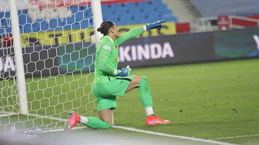 Trabzonsporun galibiyetine 18 yaşındaki kaleci Doğan Alemdar engel oldu