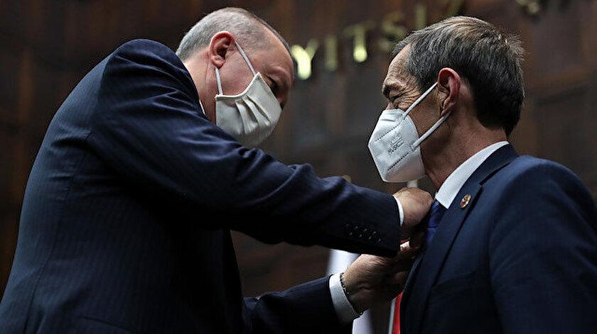 CHPli Çanakkale İl Genel Meclisi Başkanı Nejat Önder AK Partiye katıldı