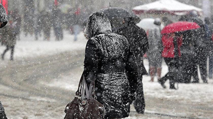 Meteorolojiden 5 il için son dakika kar yağışı uyarısı yapıldı!