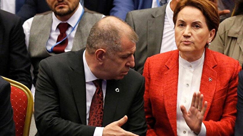 İYİ Parti'den istifa eden Özdağ'dan Akşener'e: Zevzeğin kim olduğunu kamuoyu gayet iyi biliyor