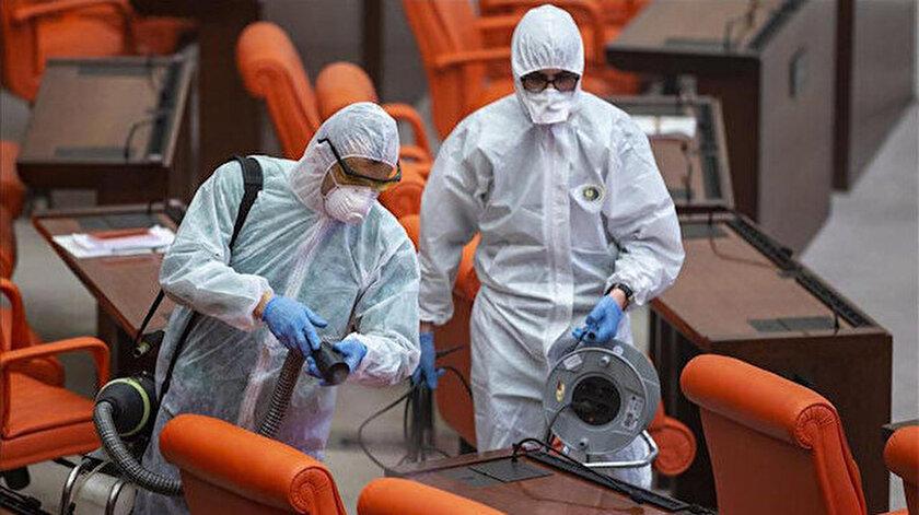 TBMMde koronavirüs önlemi: Ziyaretçi yasağı kararı alındı