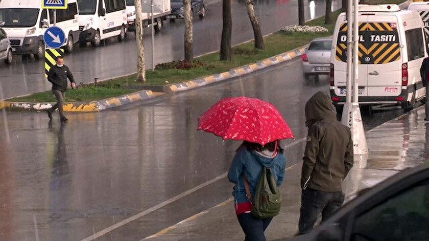 İstanbulda kar sürprizi! İstanbul hava durumu