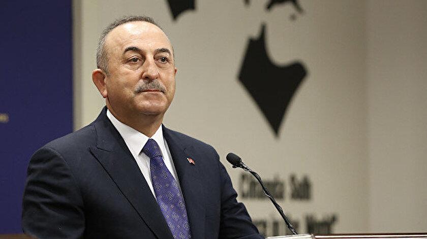 Bakan Çavuşoğlu Mısır Dışişleri Bakanı Şukriyle görüştü