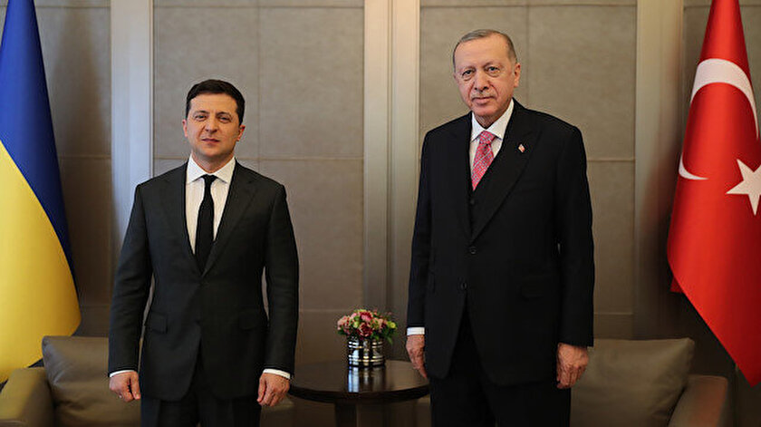 İstanbulda stratejik zirve: Erdoğan Zelenskiy görüşmesi sona erdi