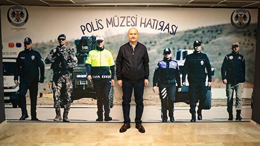 İçişleri Bakanı Soylu: Türk Polis Teşkilatının 176. kuruluş yıl dönümünü kutladı