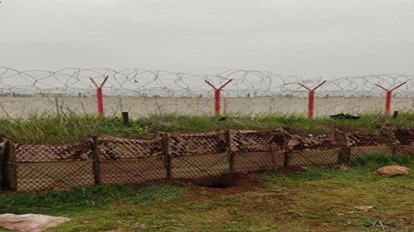 Hudut kartalları sınırdaki 100 metrelik tüneli kullanılamaz hale getirdi