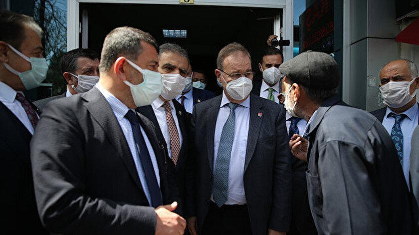 Malatyada CHP'li heyete tepki: Hizmet eden biri gelince 'diktatör' demeye başladınız