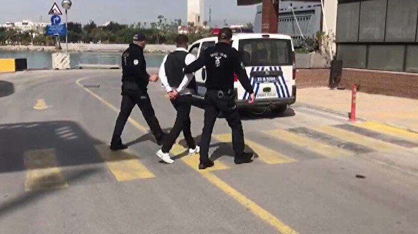 Kıbrıs'ta terör propagandası yapıyordu: Deniz yoluyla Türkiye'ye getirildi