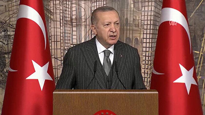 Cumhurbaşkanı Erdoğan: Türkiyenin sinir uçlarıyla oynamaya çalışanlara aradıkları fırsatı vermeyeceğiz