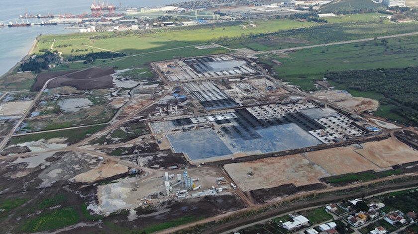 TOGG inşaatı hızla yükseliyor: Büyük proje canlı yayında izlenecek