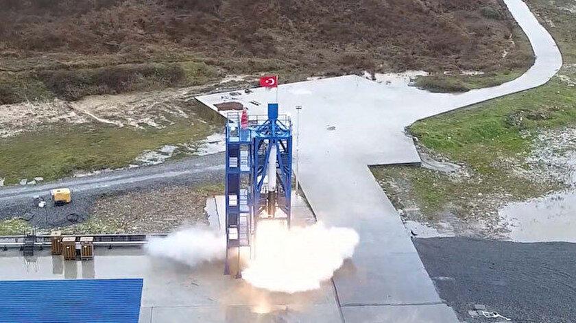 Aya gidecek uzay aracı ilk kez ateşlendi: Milli roket motoru ilk sınavını başarıyla geçti
