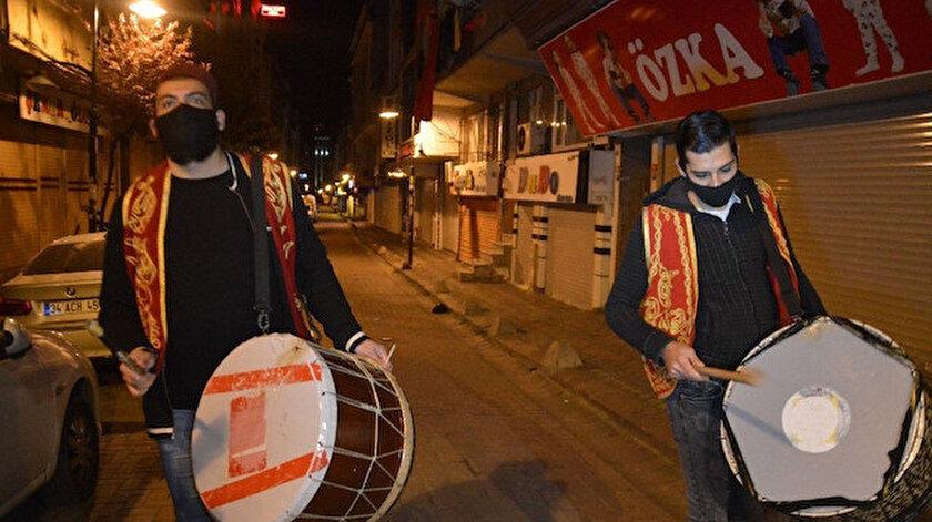 İstanbul'da davulcular ramazana hazır: 3 bin 200 kişi görev alacak apartmana girip bahşiş almak yasak