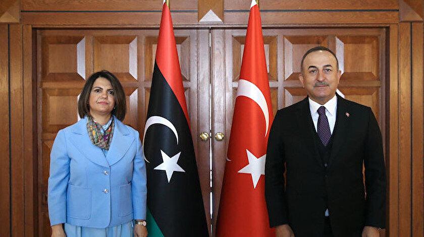 Libyalı mevkidaşıyla görüşen Bakan Çavuşoğlundan Desteğimiz devam edecek vurgusu
