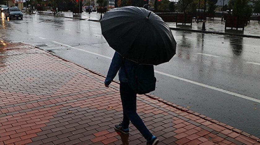 12 Nisan hava durumunda yağış uyarısı: İstanbul, Ankara, İzmir il il hava durumu