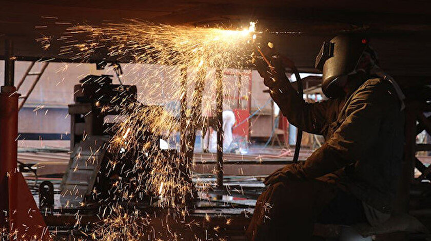 Sanayi üretim endeksi yüzde 8,8 yükseldi