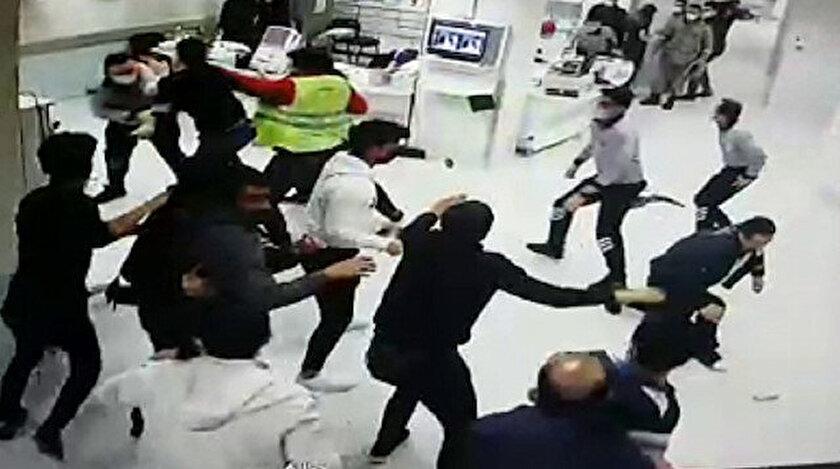 Sivasta magandalar hastaneyi savaş alanına çevirdi: 8 kişi gözaltına alındı