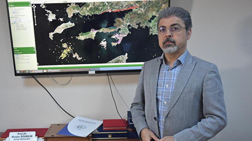 Prof. Dr. Sözbilir: Depremler, Datçada tsunami tehlikesine yol açabilir