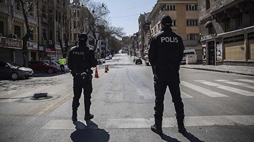 Son dakika haberleri: Türkiye geneli sokağa çıkma yasağı başladı