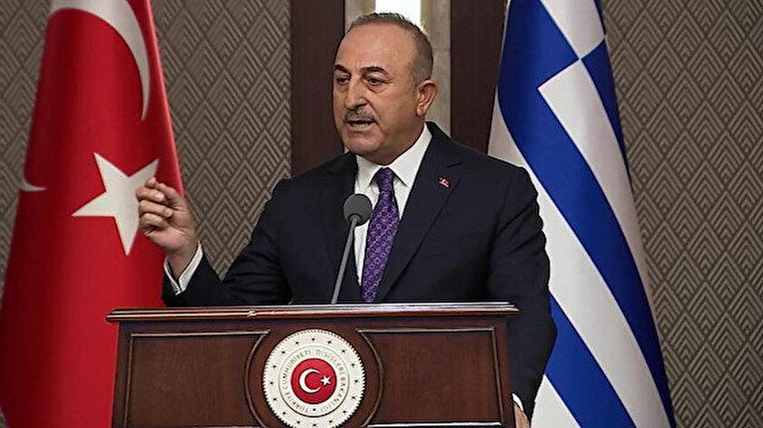 Dışişleri Bakanı Çavuşoğlundan Yunan mevkidaşı Dendiasa sert tepki: Türkiyeye yönelik ithamları asla kabul etmeyiz