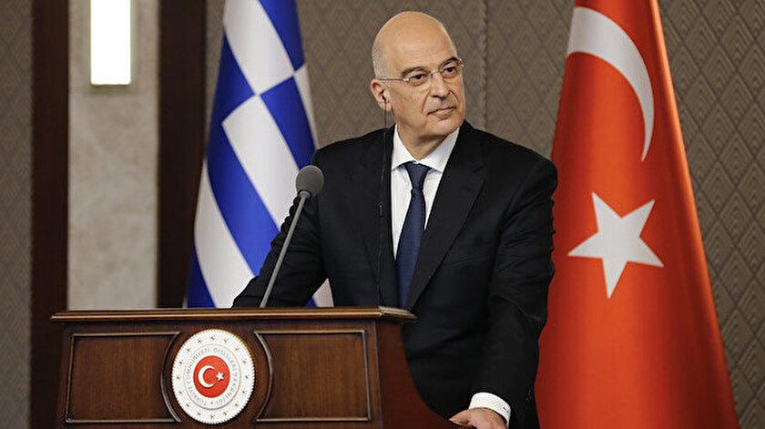 Bakan Çavuşoğlunun tepkisi sonrası Dendias klavyesine sarıldı