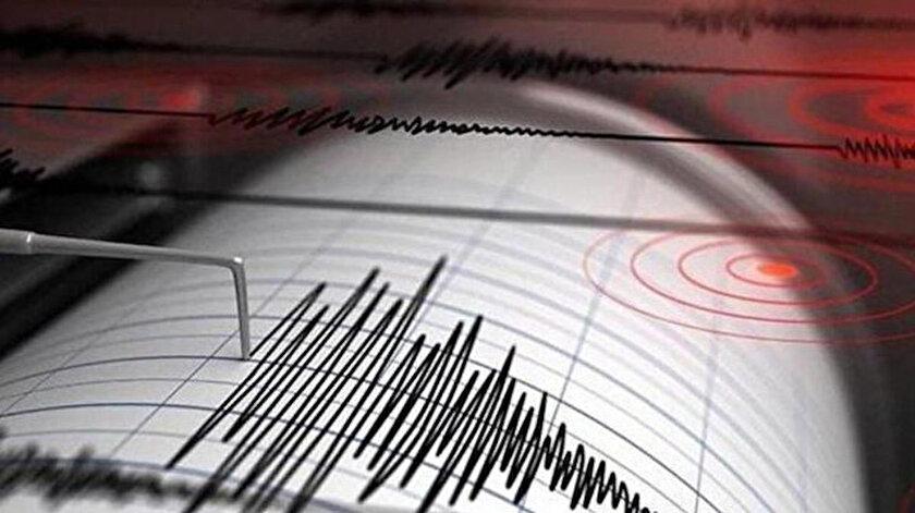Son depremler: Mersinde 3.9 büyüklüğünde deprem