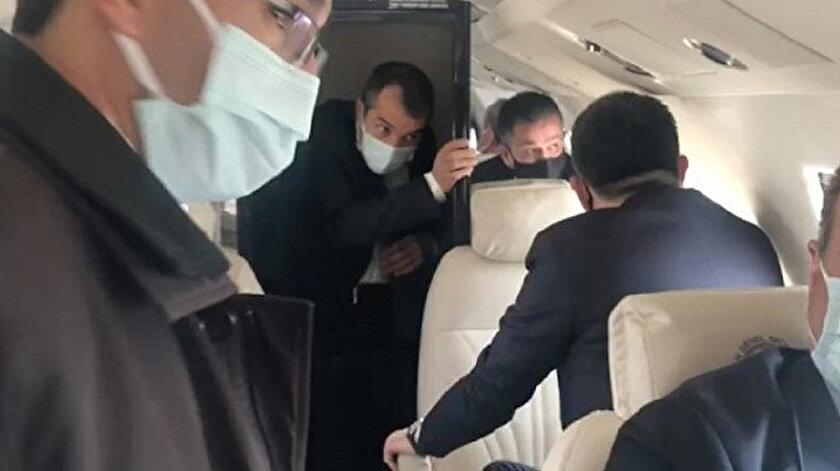Bakan Pakdemirlinin uçağı arızalandı: Uçak acil iniş yaptı