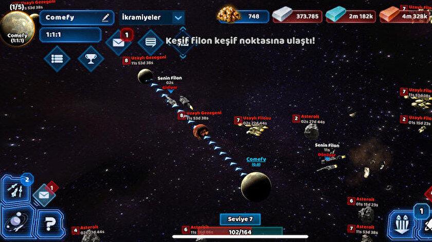 Türkiye'nin ilk uzay oyunu Kara Gezegenler hem Google Play hem de App Storeda yayında